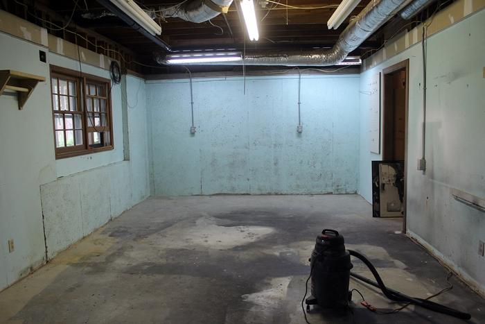 Undisgusting Painted Basement Floor