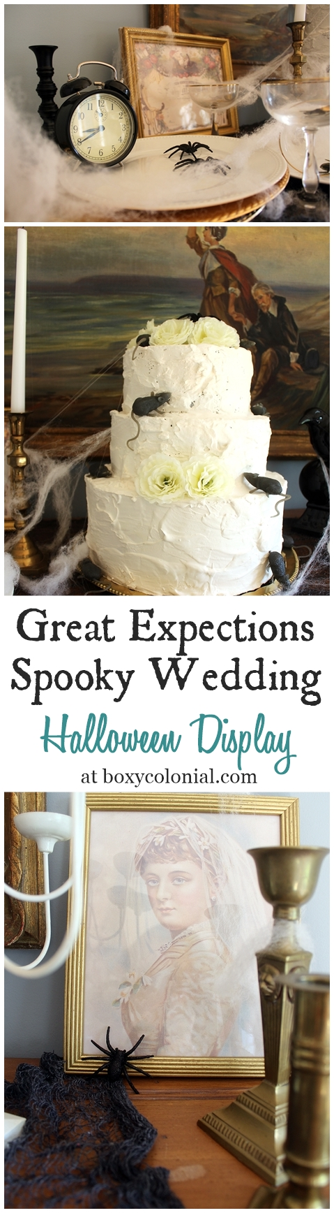 Recreate Miss Havisham's Spooky Wedding feast from Great Expectations for Halloween