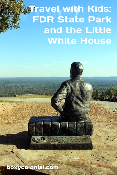 Weekend trip to Franklin D. Roosevelt State Park, the Little White House, and Columbus, GA with kids. Trip report and itinerary suggestions
