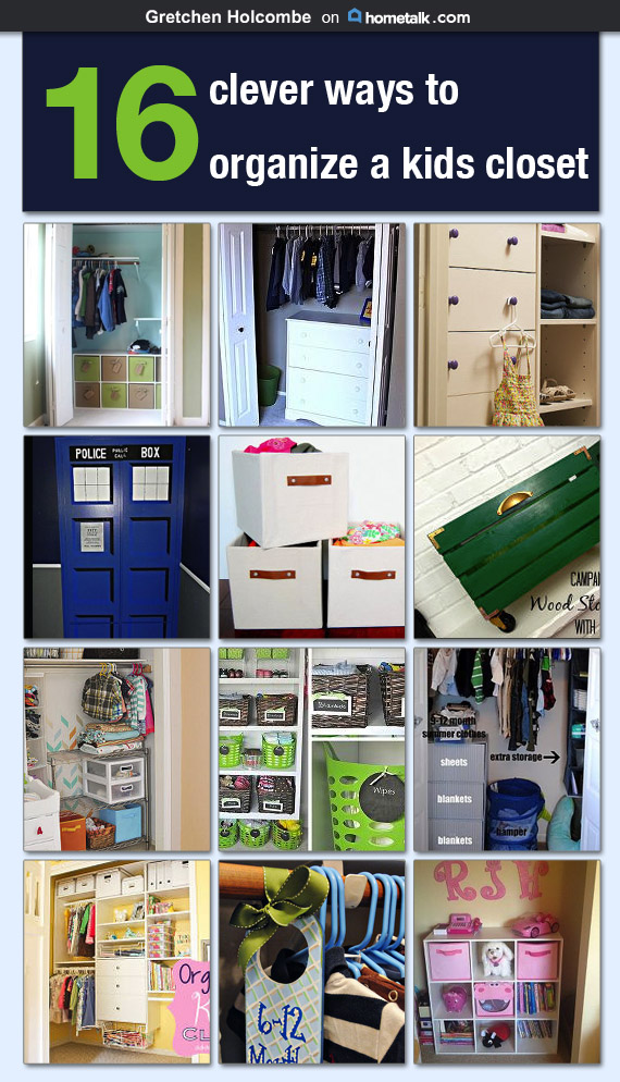 Kid Closet Organization Ideas on Hometalk