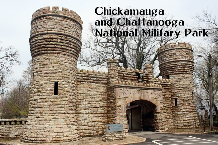 Chickamauga and Chattanooga National Military Park....with kids