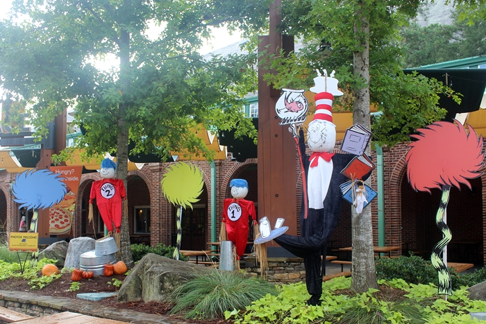 Dr. Seuss Pumpkins at Stone Mountain