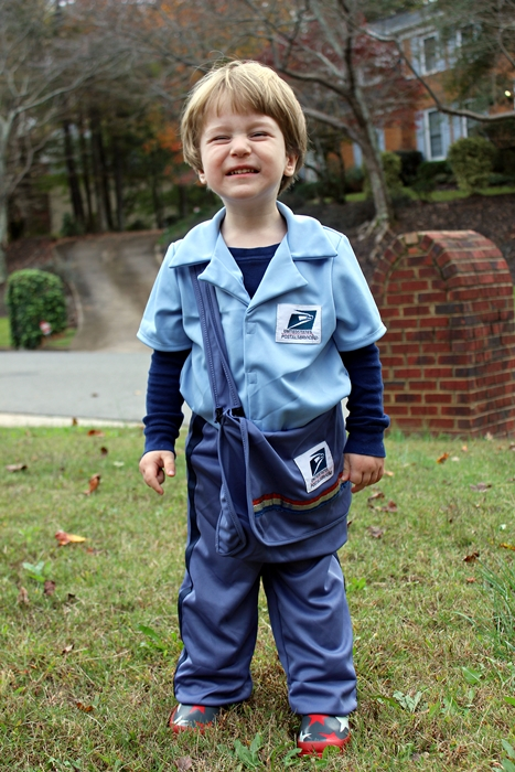 toddler mail carrier costume