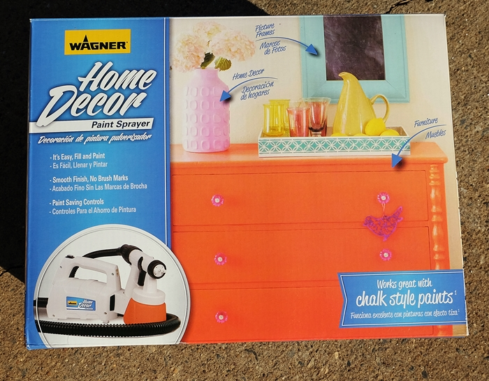 Wagner Home Decor paint sprayer