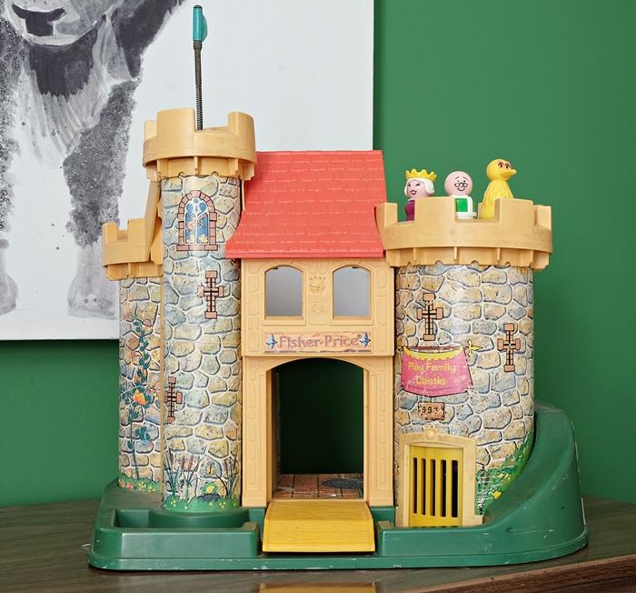 little people castle vintage
