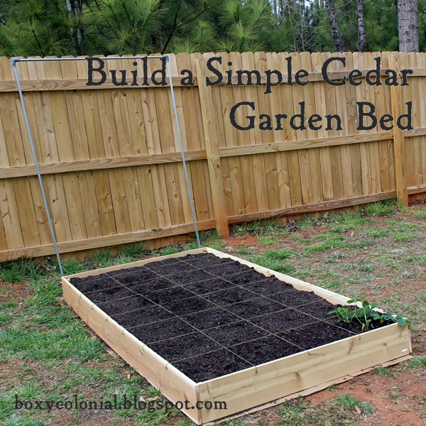 A Raised Garden Bed Because I Guess It 39 S Really Not Going To Snow This Year