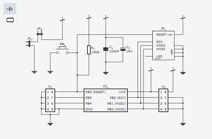 circuit schematics draw