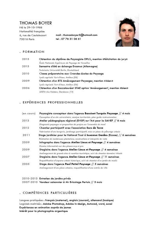 cv competences google