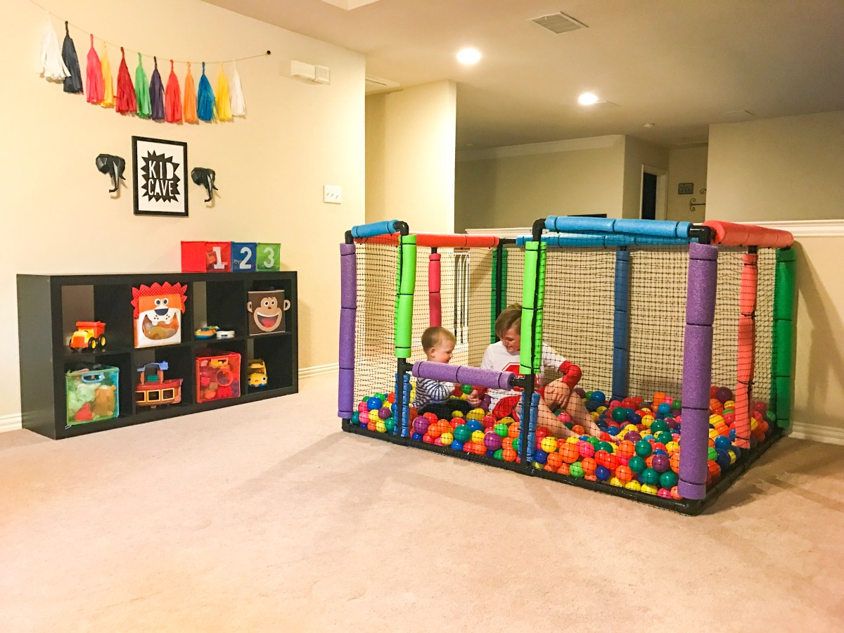 1 Year Old Room Ideas Do It Yourself Ball Pit Everyday I 39m Russellin 39