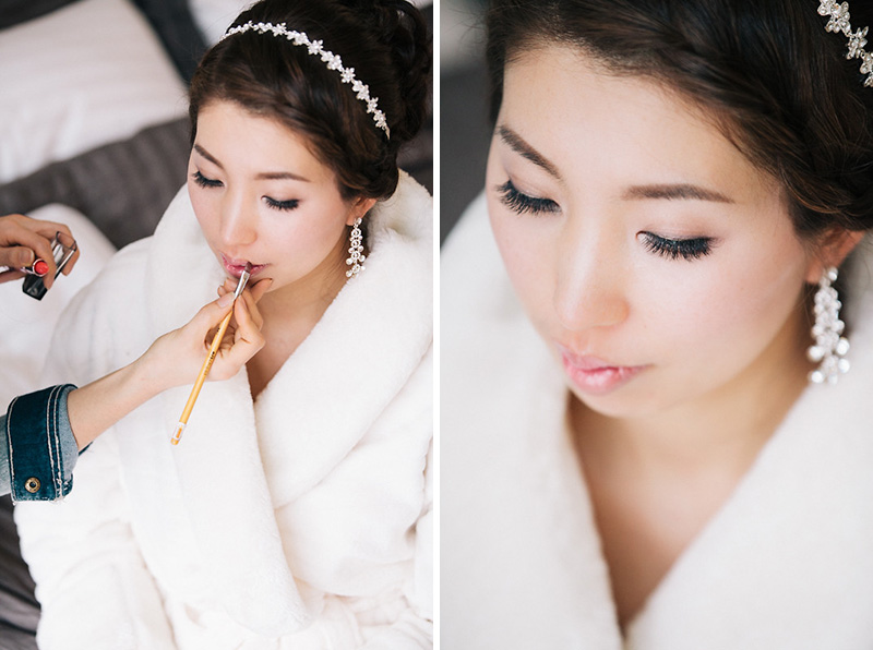 vancouver bridal make up