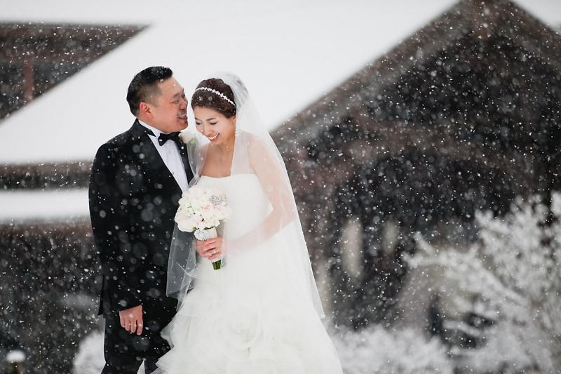 westwood plateau winter wedding