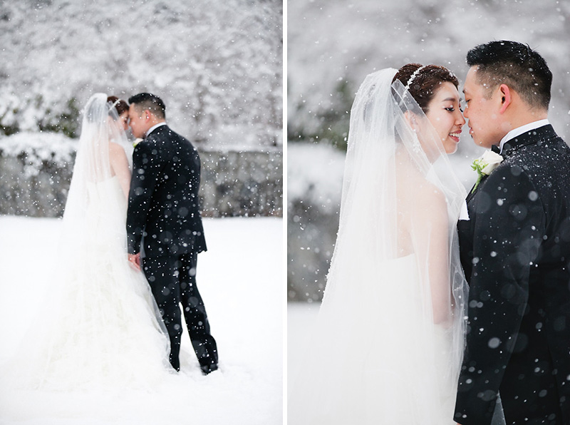 Vancouver winter wedding