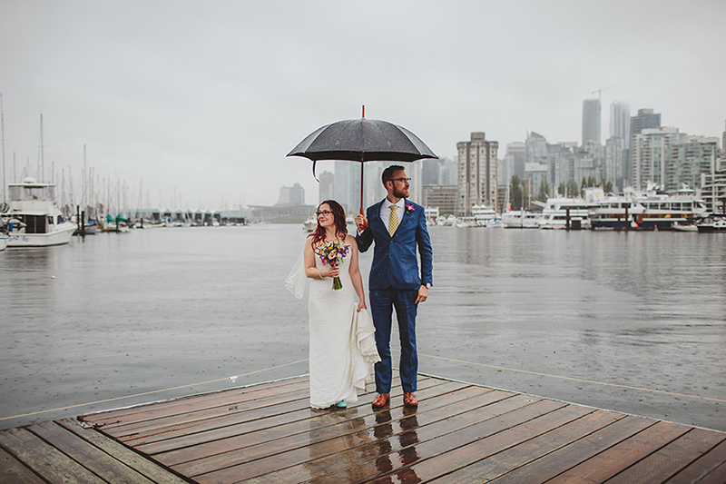 Vancouver rowing club wedding