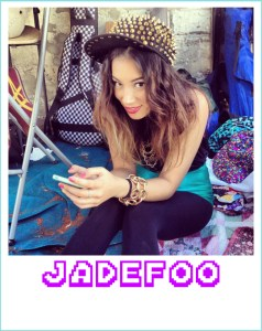 Jade Foo is an all singing all dancing part of the band Boys Boys Boys!