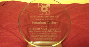 NCFM-2014-award-excellence-advancement-mens-issues-voice-for-male-students