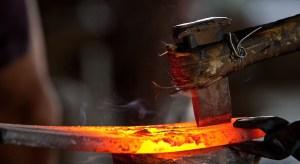 Blacksmith forge edited