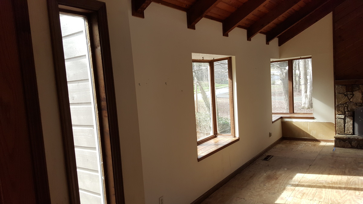 Painted Wood Ceilings Paint Cedar Tongue And Groove And Beams