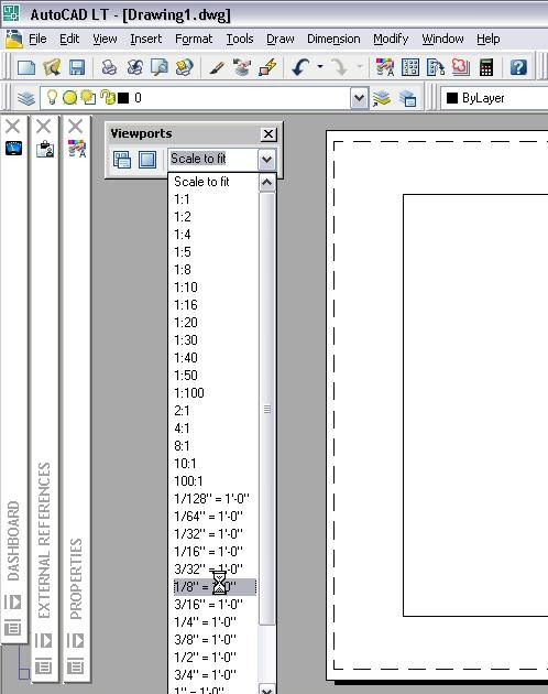 LT is still AutoCAD Setting a Viewport\u0027s Scale in a Layout