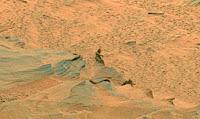 ¡Por fin, un hombrecillo en Marte!