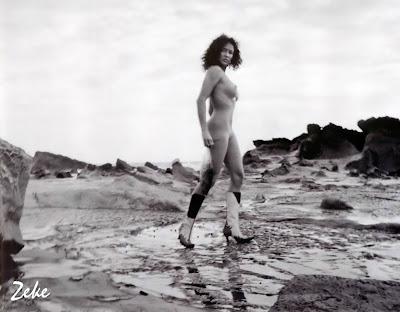 ebony nude beach