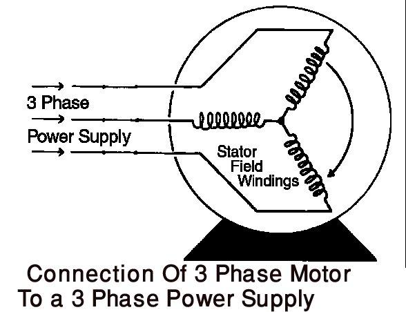 3 phase power Schaltplang