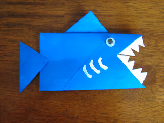 shark craft toilet paper roll