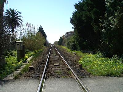 Badolato railroad, Calabria, Italy