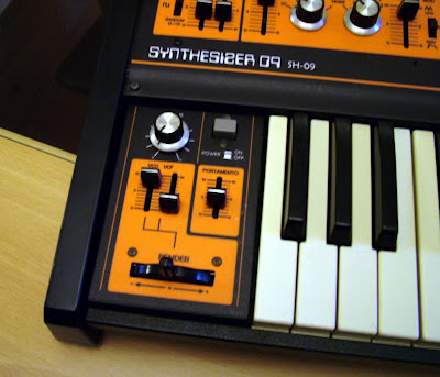 Custom Synth Orange Roland SH-09