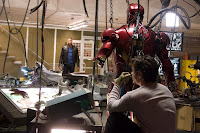 Iron Man in his garage... ;-p