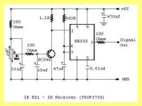 Build Your Own Security Systems: IR Receiver Circuit Diagram