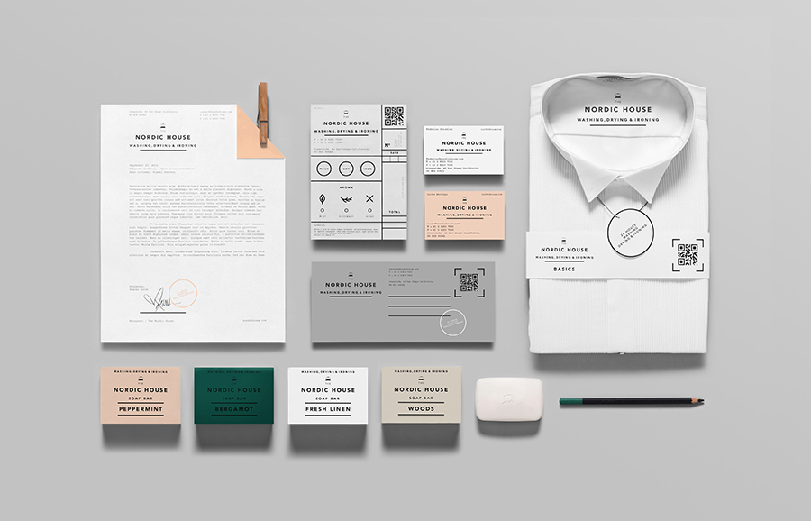 New Brand Identity for Nordic House by Anagrama - BP\O - property brochure