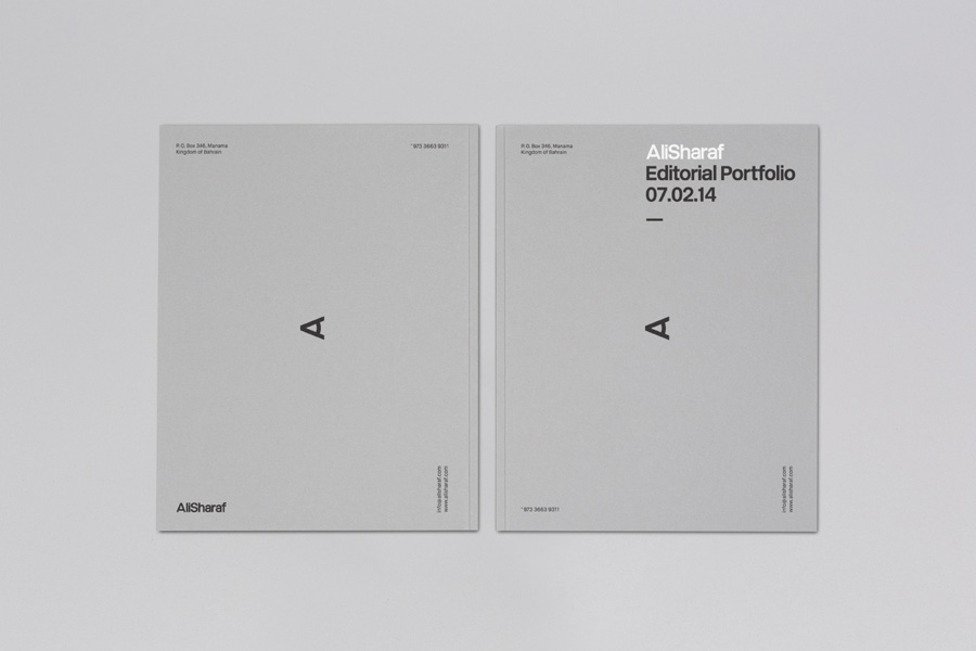 New Brand Identity for Ali Sharaf by Mash Creative - BP\O - print line paper