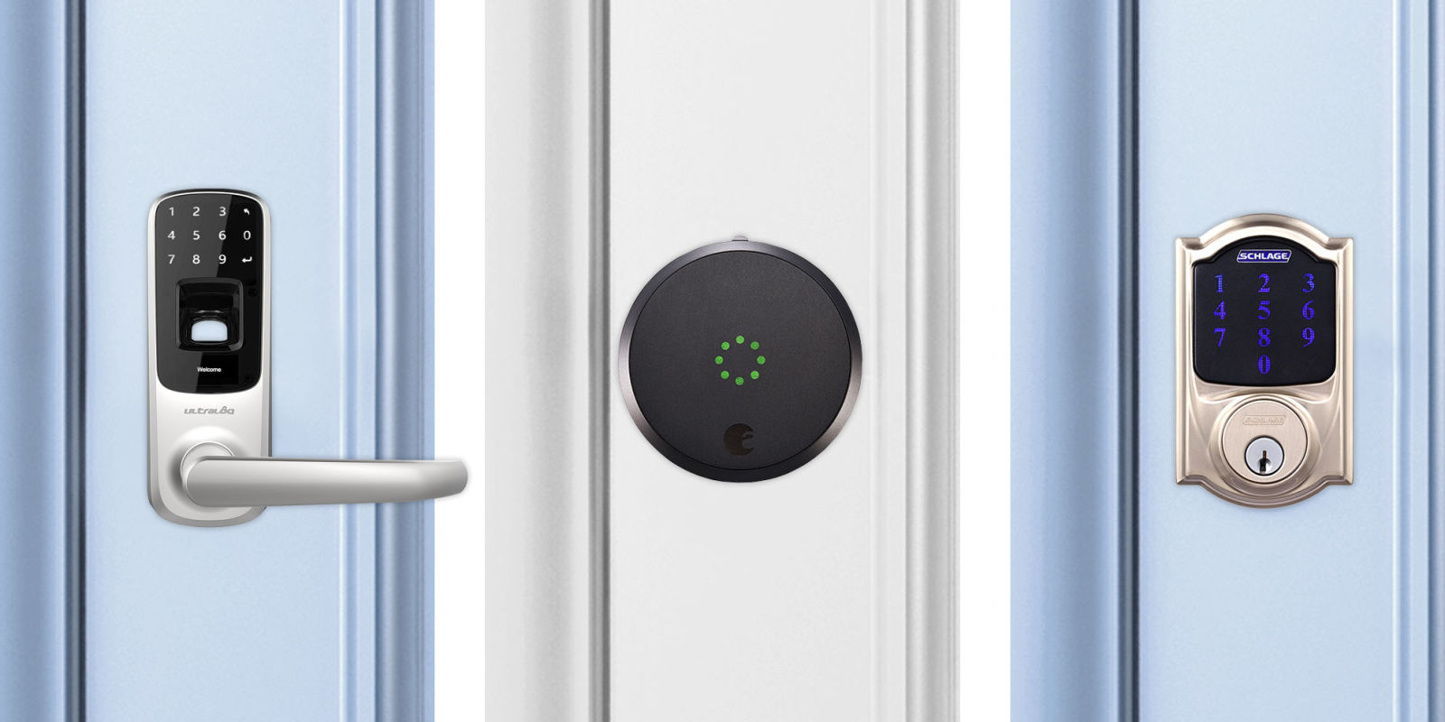 Bedroom Door Keypad Lock 8 Best Smart Locks In 2018 Reviews Of Smart Door Locks