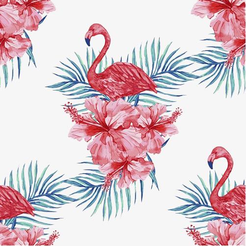 Pink Animal Wallpaper 火烈鸟壁纸素材图片免费下载 高清png 千库网 图片编号7724649