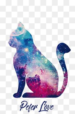 Cute Birthday Wallpaper 【猫剪影素材】 猫剪影图片大全 猫剪影素材免费下载 千库网png