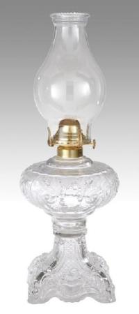 Princess Feather Oil Lamps Complete with Burner and ...