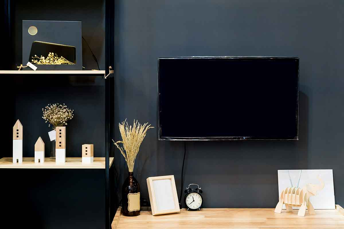 Wood Wall Behind Tv Keeping Your Tv From Becoming The Focal Point Of A Room Best