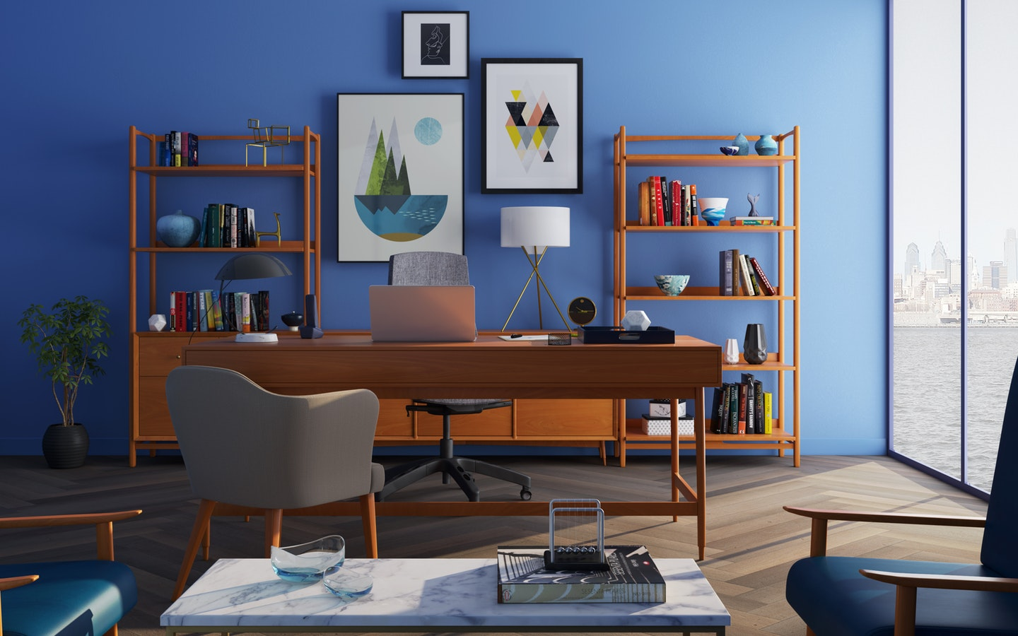 The Best Home Office Setup Ideas Before Selling Or Letting Bproperty