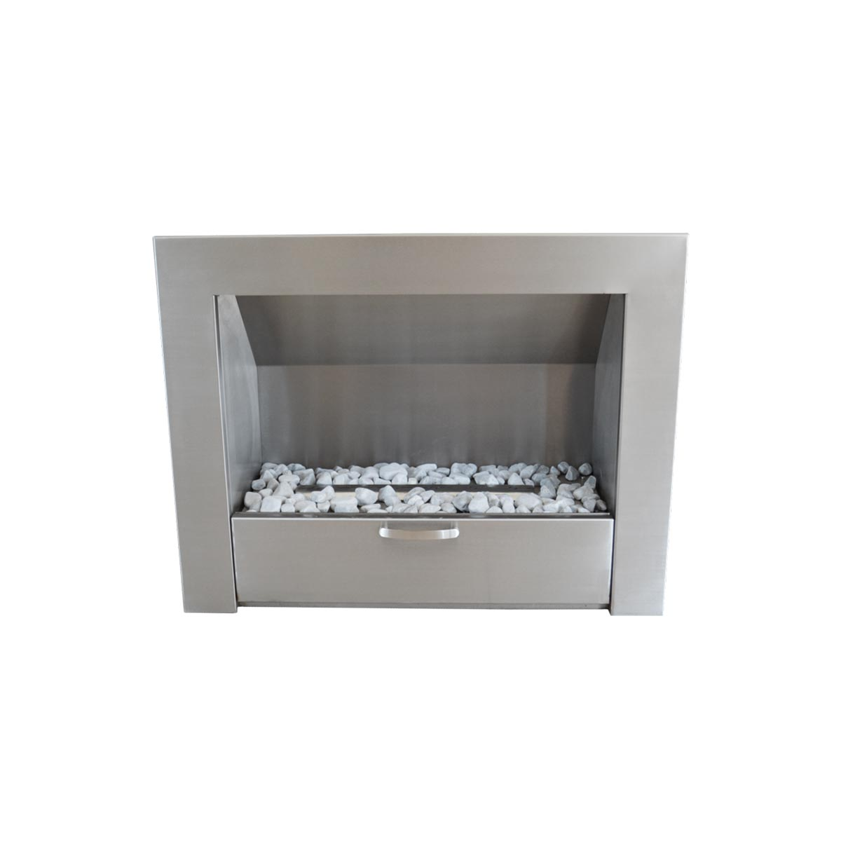 Stainless Steel Fireplace Megamaster Gas 900 Vent Free Stainless Steel Fireplace