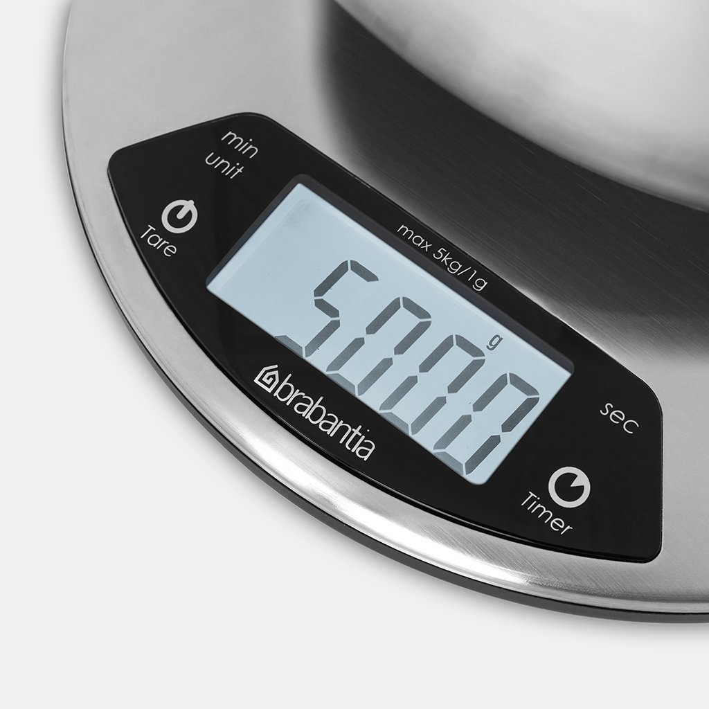 Action Keuken Weegschaal Kitchen Scales Matt Steel Brabantia