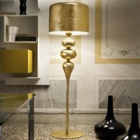 6 elegant Gold Floor Lamps that fit every living room