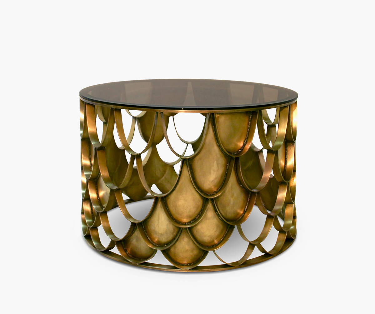 Design Couchtisch Nature Lounge Koi Center Table