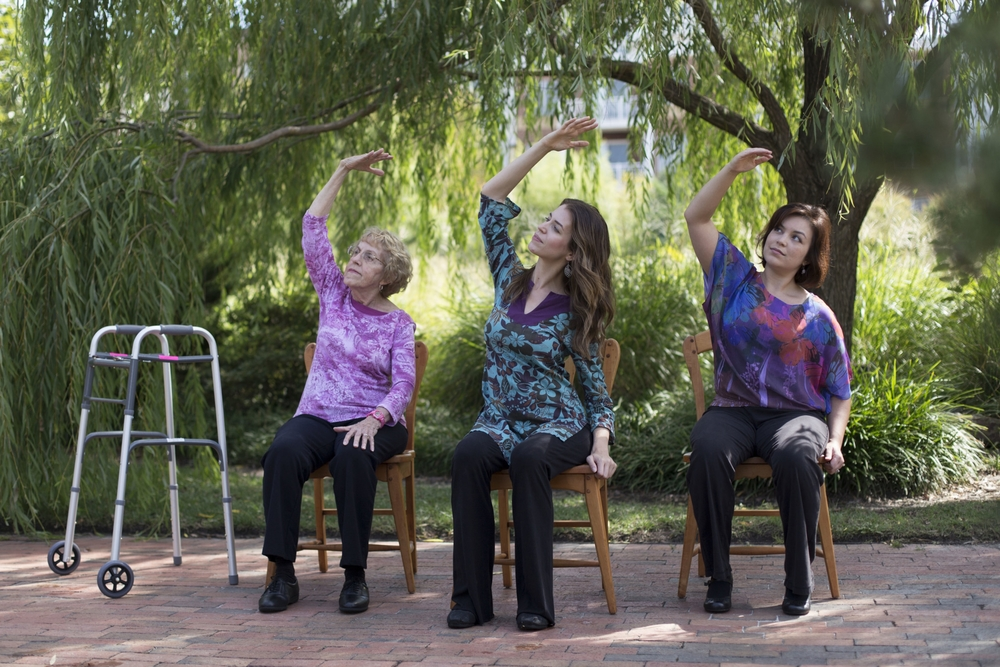 Infant Special Needs Chair Chair Yoga Helps Older Adults Manage Osteoarthritis Pain