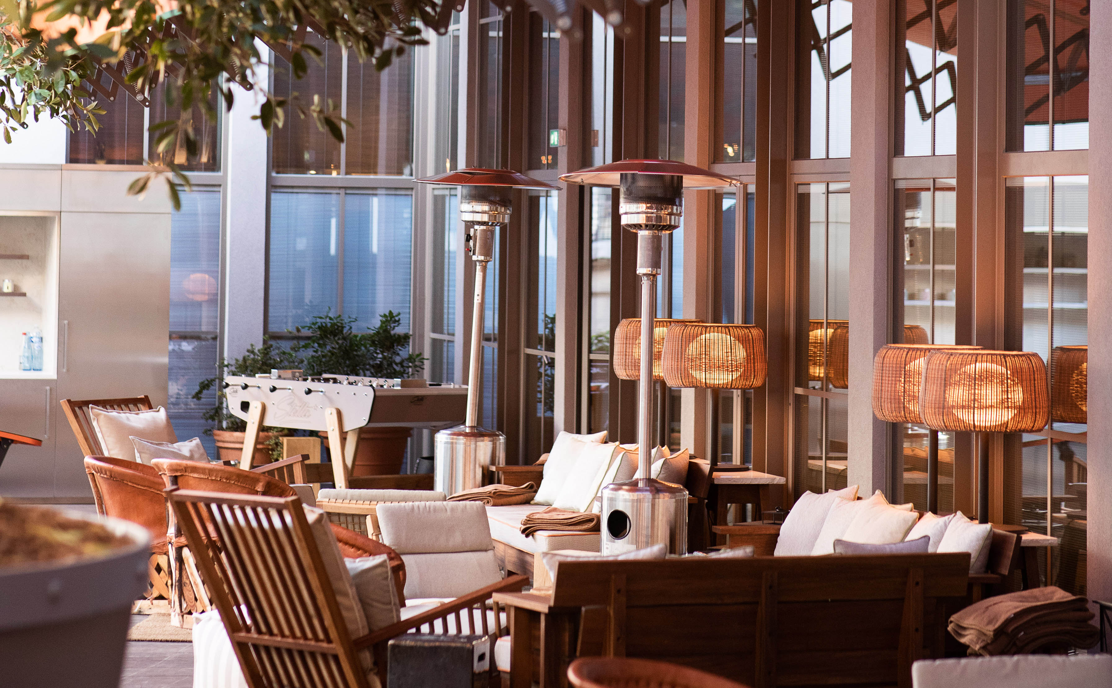 Terrasse Hotel Paris Brach Luxury Design Hotel 5 Stars By Starck Paris 16 Evok Hotels