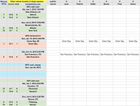 OFFICE POOL SPREADSHEETS