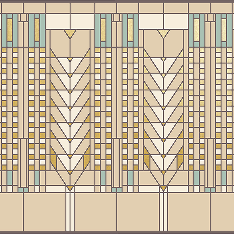 Cubes 3d Wallpaper The Frank Lloyd Wright 174 Design Collection Wallpapers By