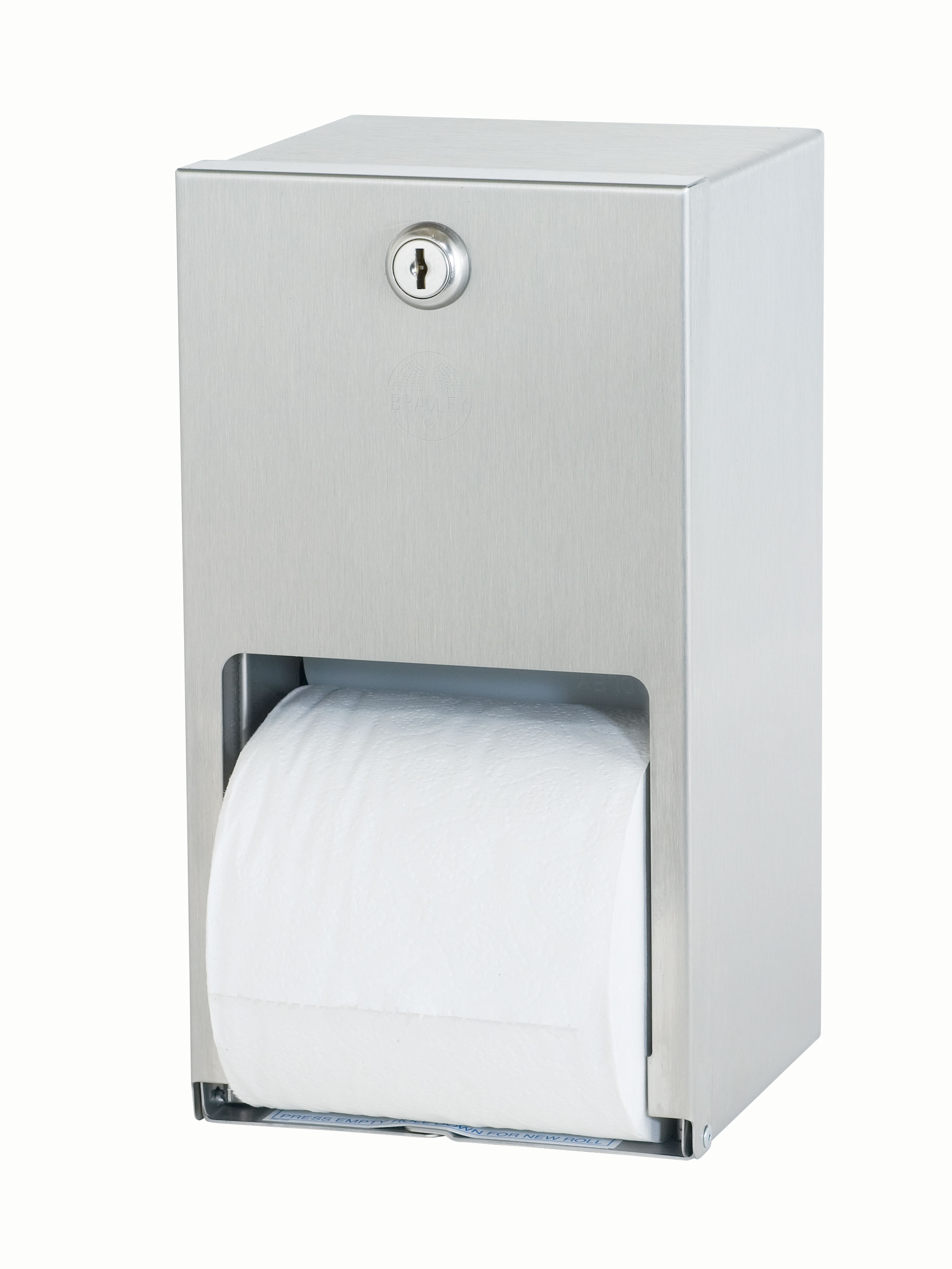 Stainless Steel Toilet Paper Stand Surface Mounted Stainless Steel Toilet Tissue Dispenser