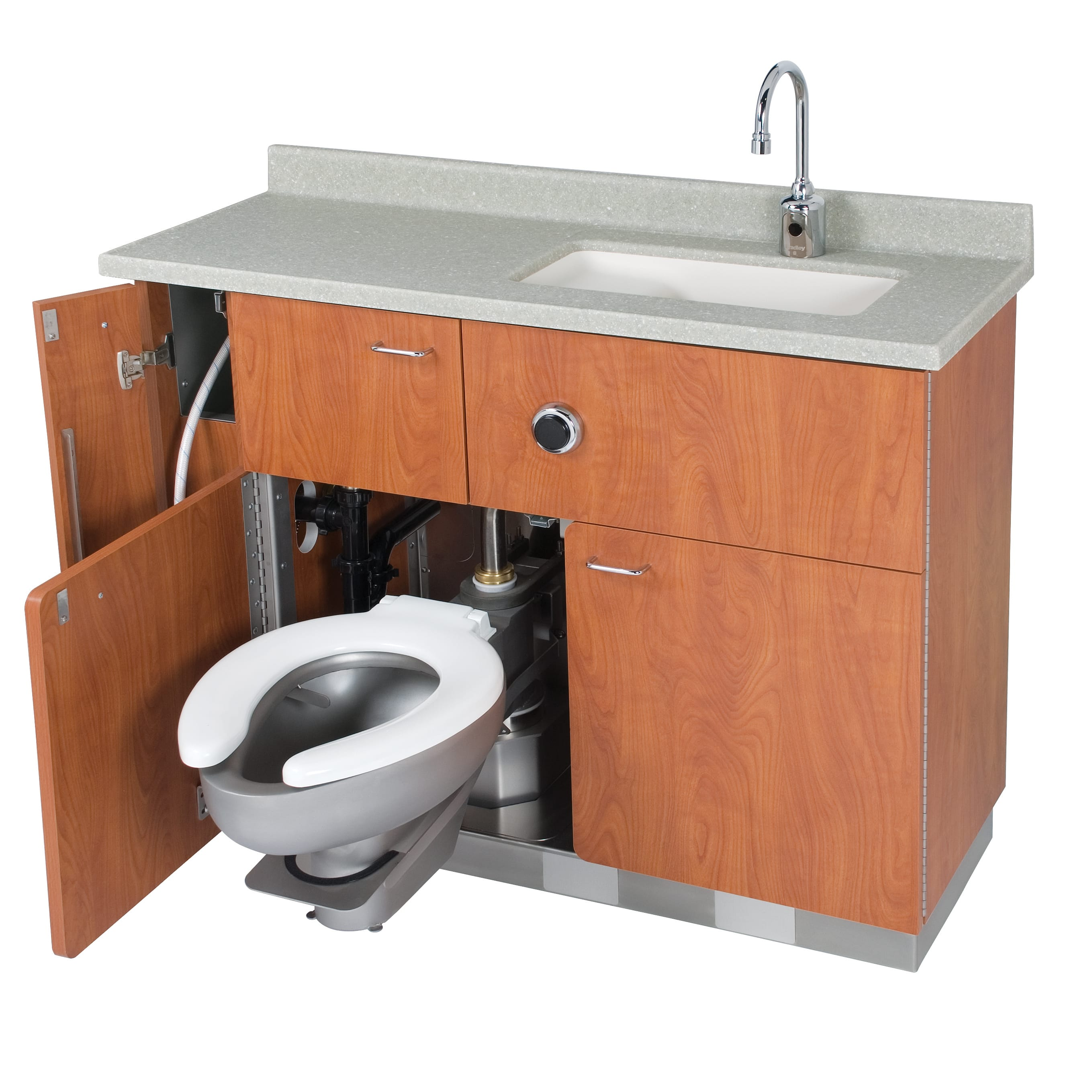 Washer Pan Lavatory Swing Out Water Closet Bed Pan Washer Comby
