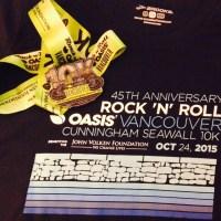 Rock 'n' Roll Vancouver Cunningham Seawall 10K