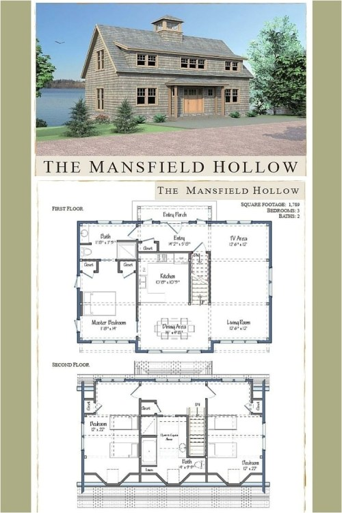 Medium Of Barn House Plans